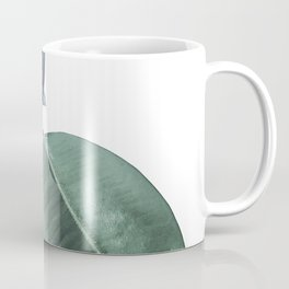 Ficus Elastica #18 #White #foliage #decor #art #society6 Coffee Mug