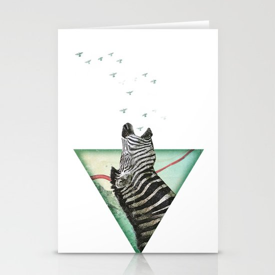 roaring silence Stationery Cards