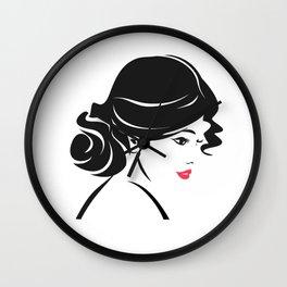 Beautiful Women Wall Clock