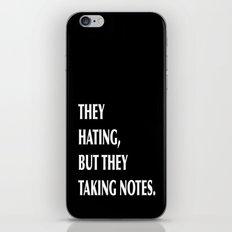 HATERS iPhone & iPod Skin