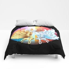 Fire Fox Ice Fox Comforters