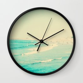 beach sunday II Wall Clock