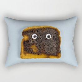 Bread burned Rectangular Pillow