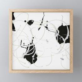 Sumi Abstract Framed Mini Art Print