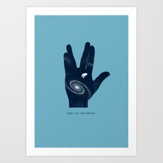 Long live and proper Art Print