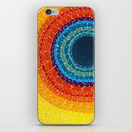 African American Masterpiece The Eclipse by Alma Thomas iPhone Skin