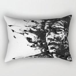 The Burden Rectangular Pillow