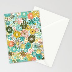 February Floral Stationery Cards