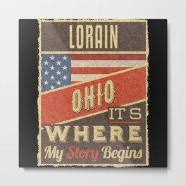 Lorain Ohio Metal Print