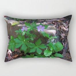 Flowers by the Falls Rectangular Pillow