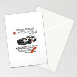 Crazy Car Art 0125 Stationery Cards
