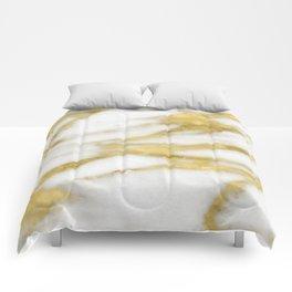 Bari golden marble Comforters