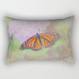 Butterfly Beautifully Painted Rectangular Pillow