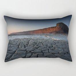 Nash Point Heritage Coastline Rectangular Pillow