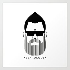 Beardcode Art Print