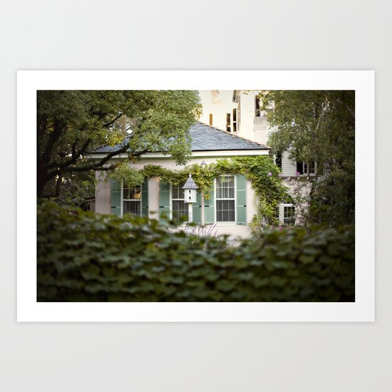 glimpse::charleston Art Print