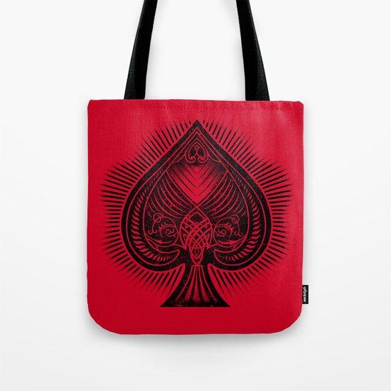 Lucky Spade Tote Bag