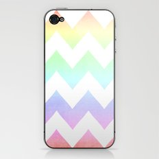 Watercolor Chevrons iPhone & iPod Skin