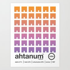 ahtanum single hop Art Print