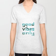 good vibes only // Punta Cana Unisex V-Neck