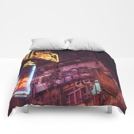 Temple Street Comforters