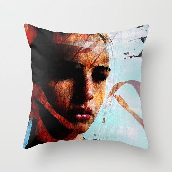memories of sadness Throw Pillow