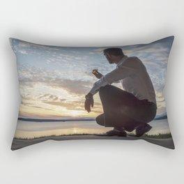 Sea Salutations Rectangular Pillow