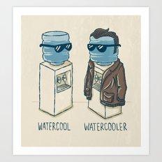 Watercool Art Print