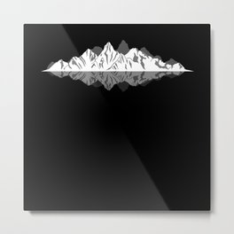 Sound of the Mountains Love Metal Print