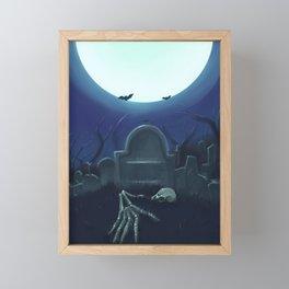 Cementerio Framed Mini Art Print