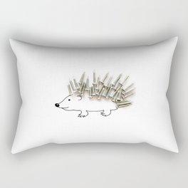Nail Hedgehog Rectangular Pillow