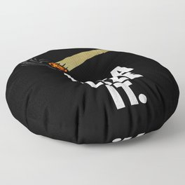 Legalize It  Floor Pillow