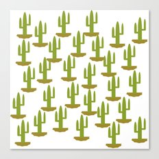 Cactus 1, Design, Vector Canvas Print
