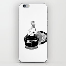 Nobody Knows The Real Me iPhone Skin