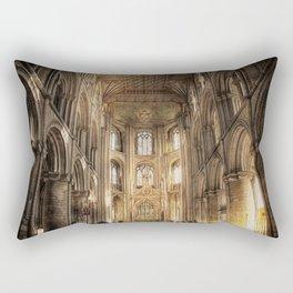Peterborough Cathedral  Rectangular Pillow