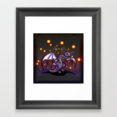 Final Fantasy Bahamut Framed Art Print