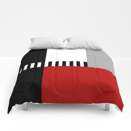 Geometric pattern 4 Comforters