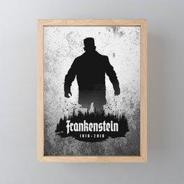 Frankenstein 1818-2018 - 200th Anniversary Framed Mini Art Print