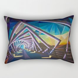 Trestle Bridge Rectangular Pillow