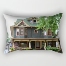 Old West End Blue I Rectangular Pillow