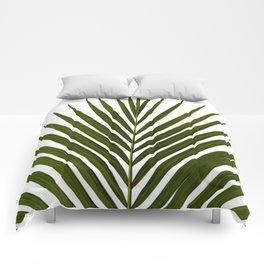 Bamboo - Tropical Botanical Print Comforters