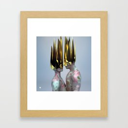 Im Sorry ∀ Framed Art Print
