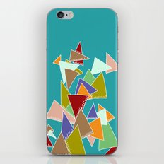 Triads Triads Triads iPhone & iPod Skin