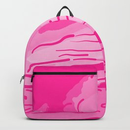 abstract style aurora borealis absmag Backpack