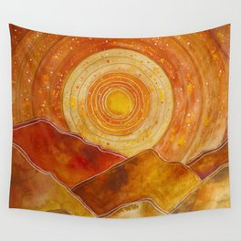 Sunset w.02 Wall Tapestry