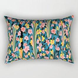 MELTED FLOWERS Rectangular Pillow