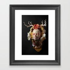 Morning Harvest Muertita Framed Art Print