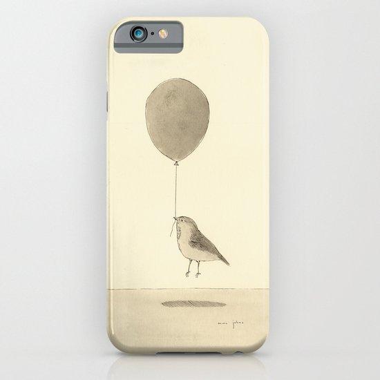 bird with a balloon iPhone & iPod Case