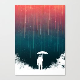 Meteoric rainfall Leinwanddruck