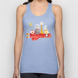 Let's All Go To Mars Unisex Tank Top